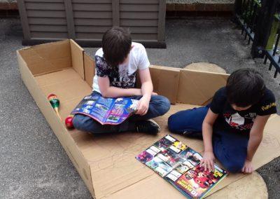 comics in a box!